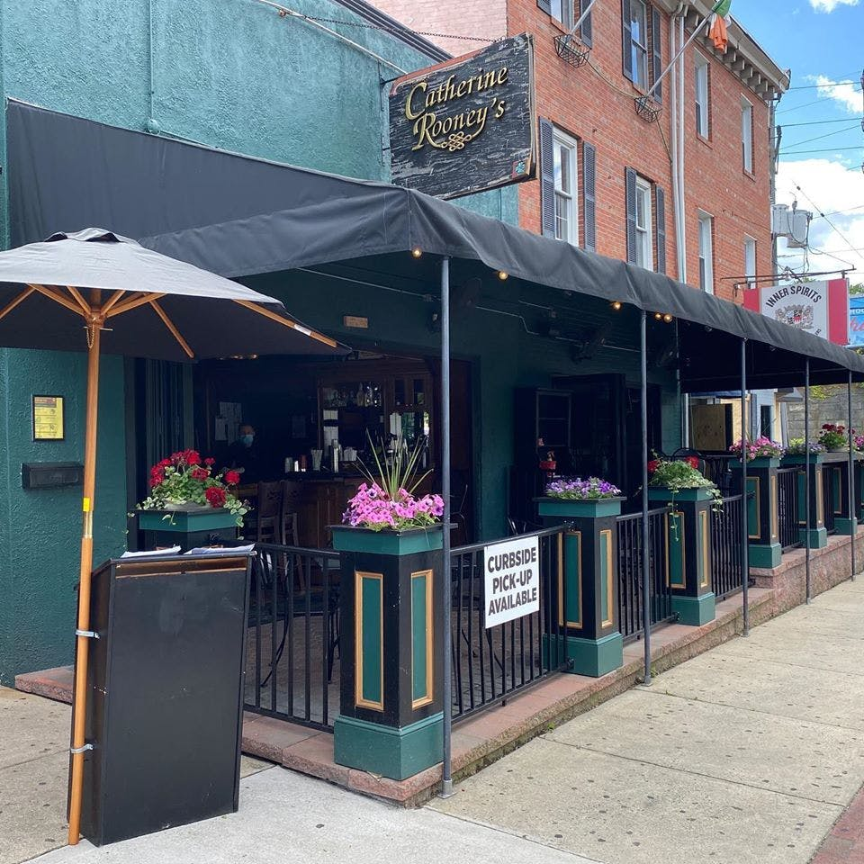 Joe McCoy of Catherine Rooney's is helping organize a new outdoor dining initiative