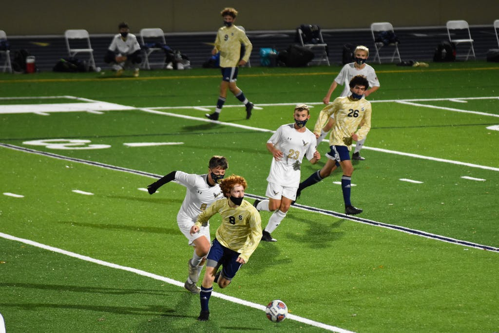 Salesianum soccer team christened its new home, with a 7-0 win over DMA