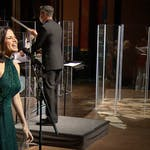Mandy Gonzalez sings during recording of Philly Pops at The Grand.
