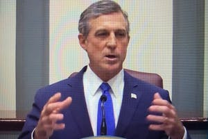 Gov. John Carney during his State of the State address.